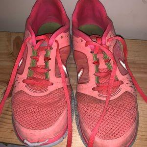 Flamingo pink Nikes 🌸